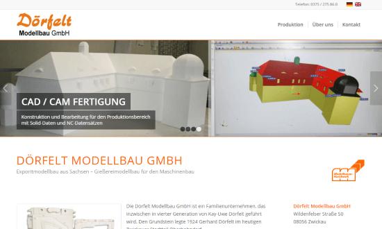 Konzept & Umsetzung einer zweisprachigen Unternehmenswebsite in Wordpress.